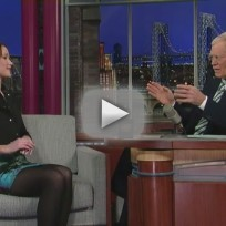 Jennifer Lawrence on The Late Show - Twitter Bashing
