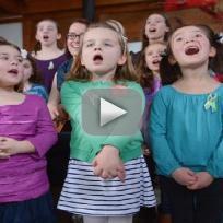 """Newtown Children Sing """"Over the Rainbow"""""""