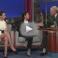 Kim Kardashian on The Late Show - What's Kanye Like?