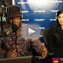 Kim and Kourtney on Sway in the Morning