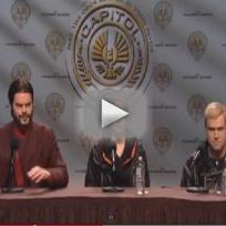 The Hunger Games Saturday Night Live Sketch
