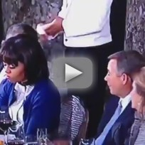 Michelle obama eye roll