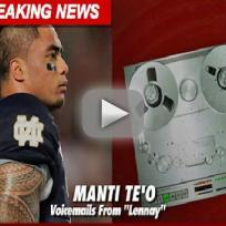 Manti teo voicemails