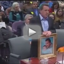 Newtown Father Heckled at Hearing