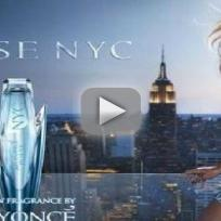 Beyonce Fragrance Shoot