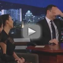 Kim Kardashian and Kourtney Kardashian on Jimmy Kimmel Live (Part 2)