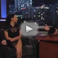 Kourtney Kardashian on Jimmy Kimmel Live: Why Does She Hate Scott?