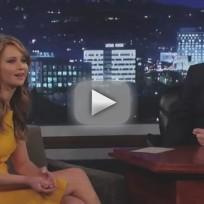 Jennifer Lawrence on Jimmy Kimmel Live (Part 2)