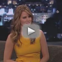 Jennifer Lawrence on Jimmy Kimmel Live (Part )