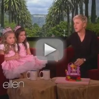 Sophia grace and rosie i knew you were trouble live on ellen