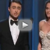 Kristen Stewart: Stoned at Academy Awards?