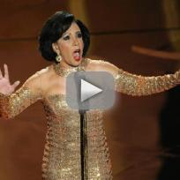 Shirley Bassey Oscars Performance