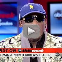 Dennis rodman interview