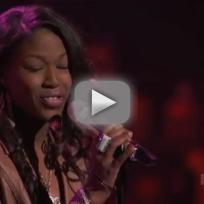 "Amber Holcomb - ""I Believe in You and Me"""