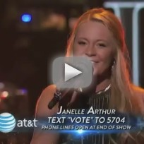 """Janelle Arthur - """"If I Can Dream"""""""