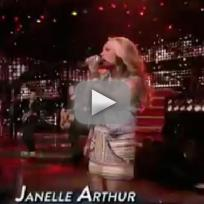 Janelle Arthur - Gone (American Idol Top 10)