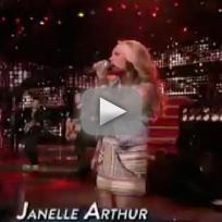 Janelle arthur gone american idol top 10