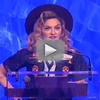Madonna at GLAAD Awards
