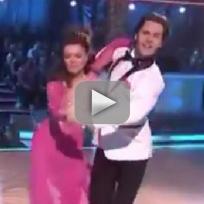 Lisa Vanderpump Dancing With the Stars Performance (Week 1)