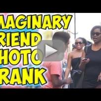 Imaginary Friend Photo Prank