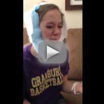 Girl Cries Over Dead Wisdom Teeth