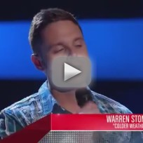 Warren Stone - The Voice Blind Audition