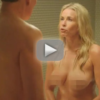 Conan O'Brien vs. Chelsea Handler: Nude Shower Fight!