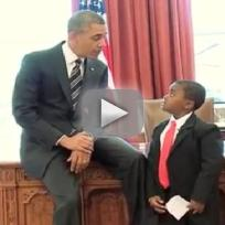 Kid President, Obama
