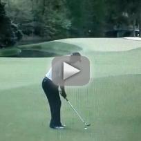 Tiger Woods F-Bomb (Masters 2013)
