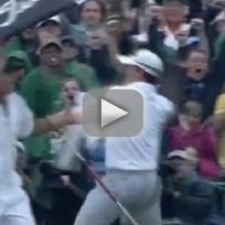 Adam Scott Makes Clutch Putt