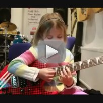 7-Year-Old Plays Sweet Child O' Mine