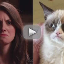 Alison-brie-imitates-internet-memes