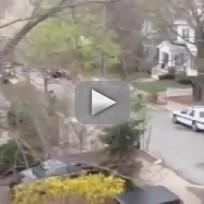 Boston Bombing Suspect Shootout in Watertown