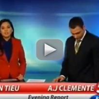 Aj clemente curses on air