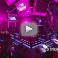 Brandon Roush vs. Shawna P. - The Voice Battle Round