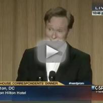 Conan White House Correspondents Dinner Speech 2013