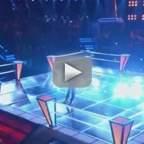 Kris Thomas vs. Mary Miranda - The Voice Knockout Round