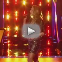 Amy Whitcomb vs. Caroline Glaser - The Voice Knockout Round
