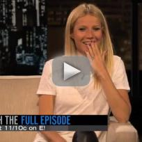 Gwyneth paltrow blow job advice