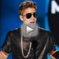 Justin Bieber Milestone Award Speech