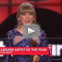 Taylor Swift Artist of the Year Speech