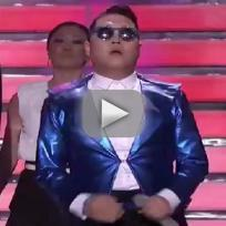 Psy gentleman live on american idol