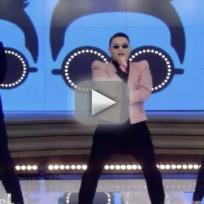Psy and kelly ripa gentleman dance