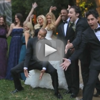Donald-faison-cacee-cobb-wedding-video