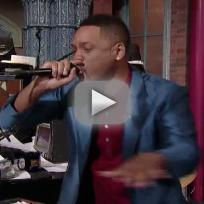 Will Smith - Summertime (Live on Late Show)