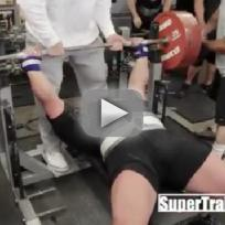 Eric Spoto Bench Presses 722 Pounds!