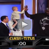 Shaq loses to 2 year old
