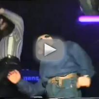 Russian Kid Dances at Club
