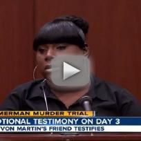 Rachael Jeantel in Court