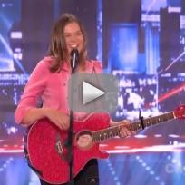 Olivia Rox on America's Got Talent